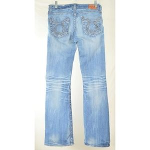 Big Star Jeans - Big Star jeans 29 x 32 Liv embroidery back pockets